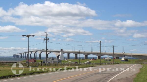 Charlottetown - Prince Edward Island - Confederation Bridge bei Borden-Carleton
