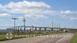 Charlottetown - Prince Edward Island - Confederation Bridge bei Borden-Carlton