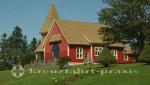 Charlottetown - Prince Edward Island - Einsames Haus zwischen Victoria und Cornwall