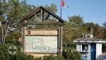 Charlottetown - Prince Edward Island - Wegweiser vor Confederation Landing