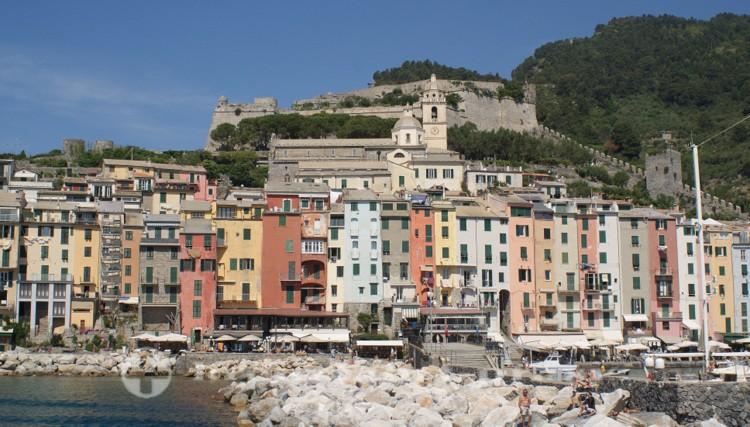 Cinque Terre - Portovenere mit Kastell Doria
