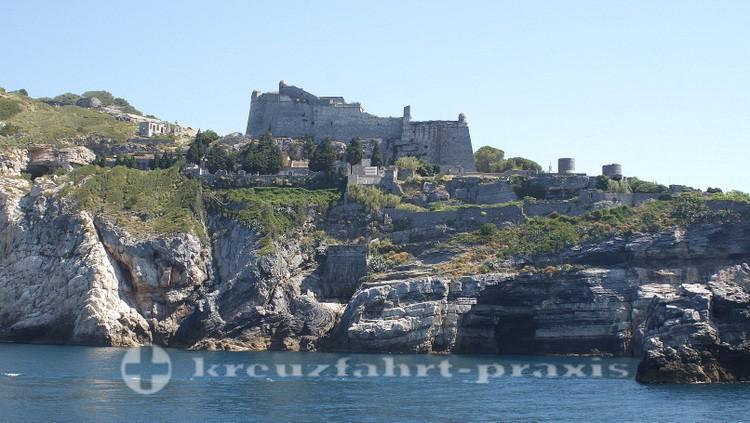 Cinque Terre - Portovenere - Kastell Doria
