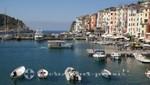 Boote im Hafen von Portovenere