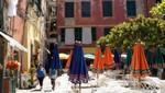 Vernazza - Platz vor der Kirche
