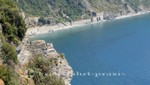 Corniglia - Ausblick in östlicher Richtung