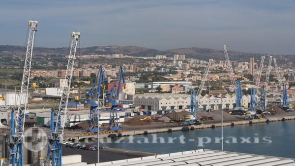 Civitavecchia Hafen