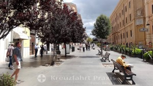 Corso Centocelle - verkehrsberuhigte Einkaufsmeile