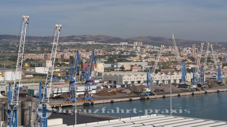 Hafen Civitavecchia