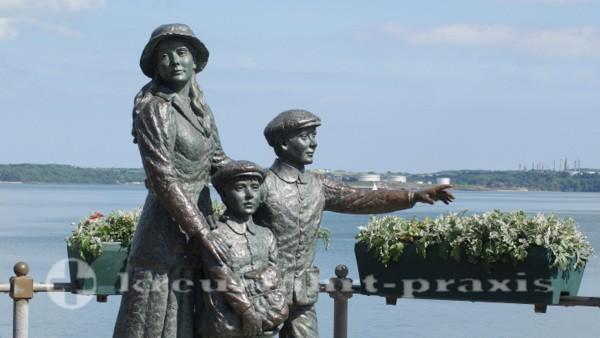 Cobh - Auch sie verließen Irland
