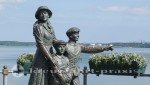 Cobh - Denkmal der Annie Moore
