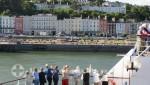 Cobh - Der Kennedy Park vom Schiff betrachtet