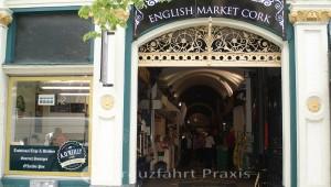 Cork - der English Market - Eingang an der Grand Parade