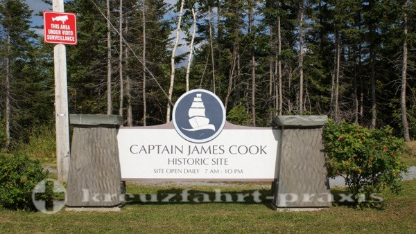 Corner Brook - Captain James Cook Historic Site