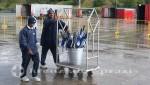 Corner Brook - Regenschirme rollen an