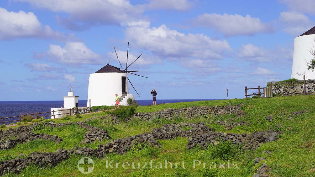 The windmills of Vila do Corvo