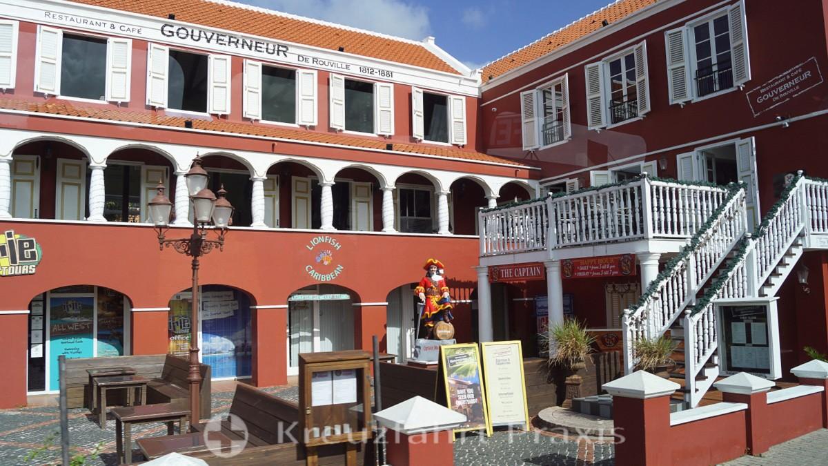 Traditionelle Architektur - Restaurant Gouverneur de Rouville