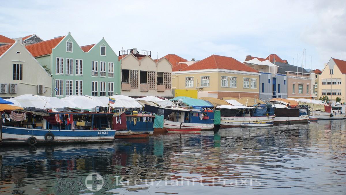 Der ehemalige Floating Market