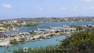 Mirador Kaya Guinea - Blick auf das Spaanse Water