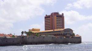 Willemstad - Waterfort mit dem Plaza Hotel Curaçao & Casino