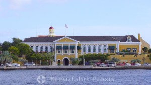 Willemstad - Fort Amsterdam - der Gouverneurspalast