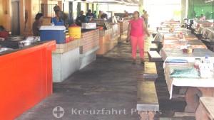 Willemstads Plasa Bieu - die Garküche im Old Market