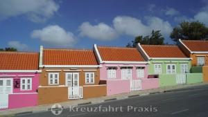 Colorful row houses on Berg Altena Straße