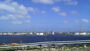 Erdöl-Raffinerien am Schottegat