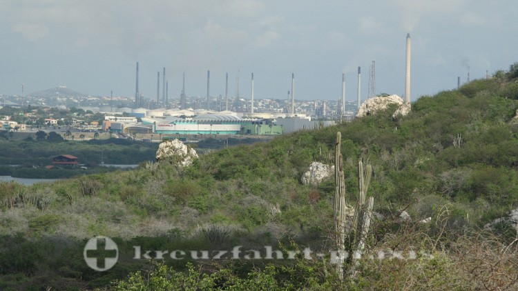 Curaçao - Erdöllraffinerie