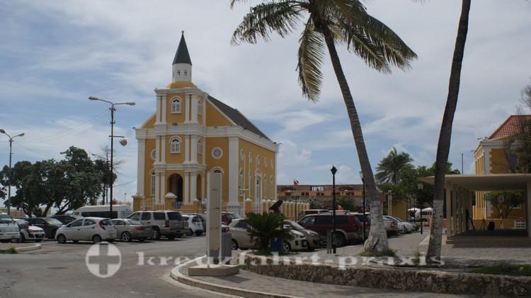 Curacao - Willemstad - Die ehemalige Synagoge am Wilhelminaplein