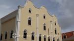 Curacao - Willemstad - Giebel der Mikvé Israel-Emmanuel Synagoge