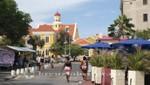 Curacao - Willemstad - Straße am Wilhelminaplein