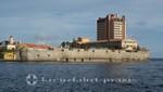 Curacao - Willemstad - Waterfort und Plaza Hotel