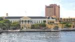 Curacao - Willemstad - Gouverneurspalast und Plaza Hotel