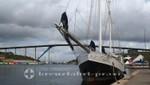 Curacao - Willemstad - Die Königin-Juliana-Hochbrücke