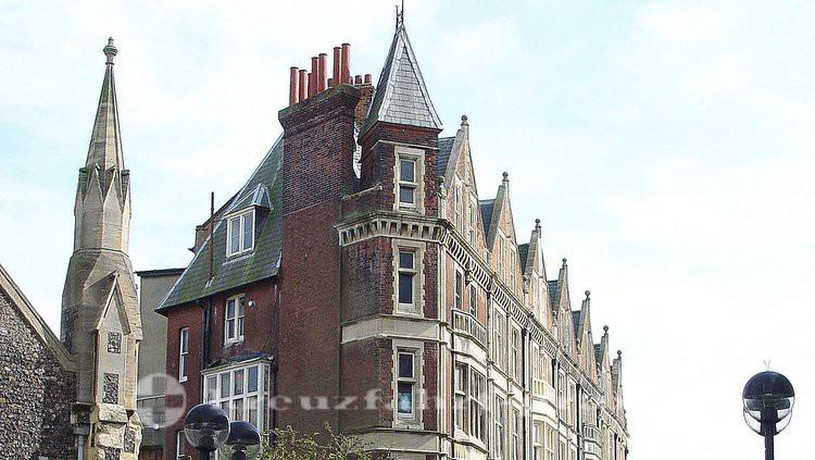 Fassade in der Biggin Street