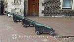 Kanonen vor dem Rathaus