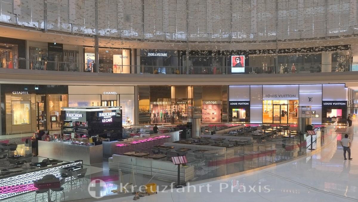 Nobelmarken in der Dubai Mall