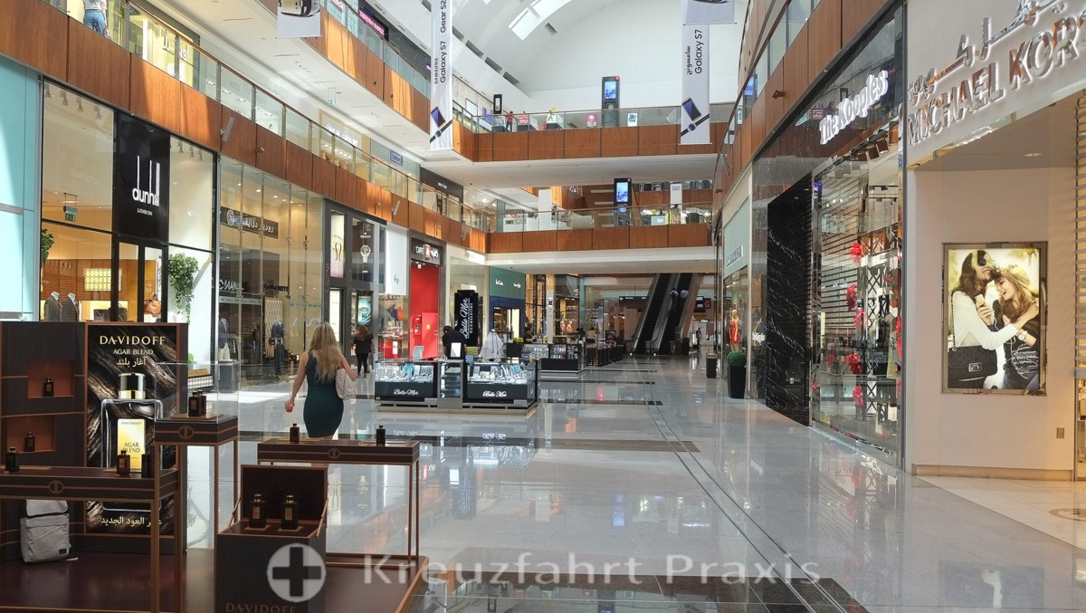 Luxuslabel in der Dubai Mall