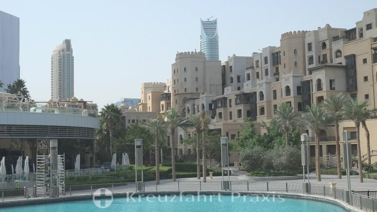 Dubi-City - The Old Town Island am Burj Khalifa See