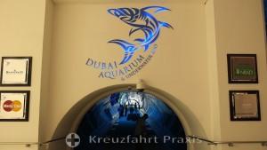 Eingang zum Aquarium & Underwater Zoo