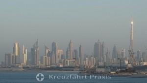 Duba-City - Skyline mit Burj Khalifa