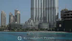 Burj Khalifa - die unteren Geschosse