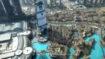Wasserlandschaft Downtown Dubai
