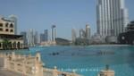 Dubai Mall mit künstlichem See