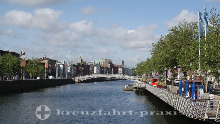 Bachelor's Walk u Ha'penny Bridge
