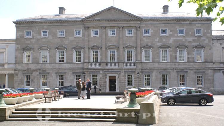 Leinster House - Parlamentssitz