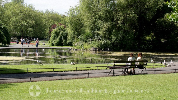 Parklandschaft St Stephen's Green
