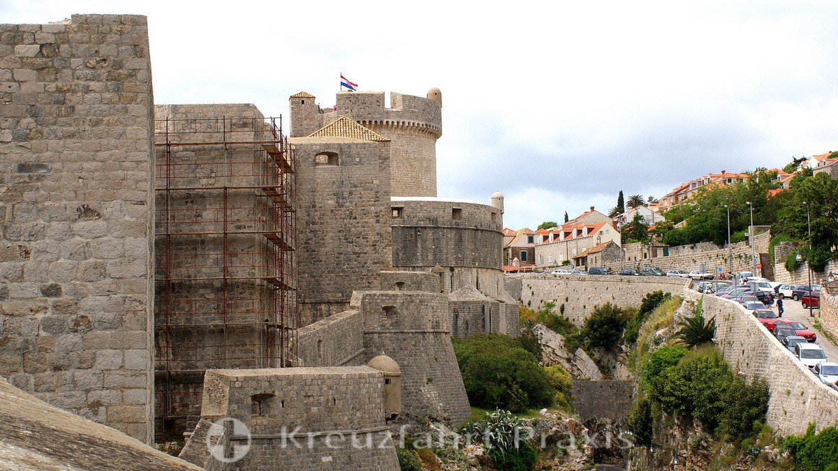 Dubrovnik's fortress wall