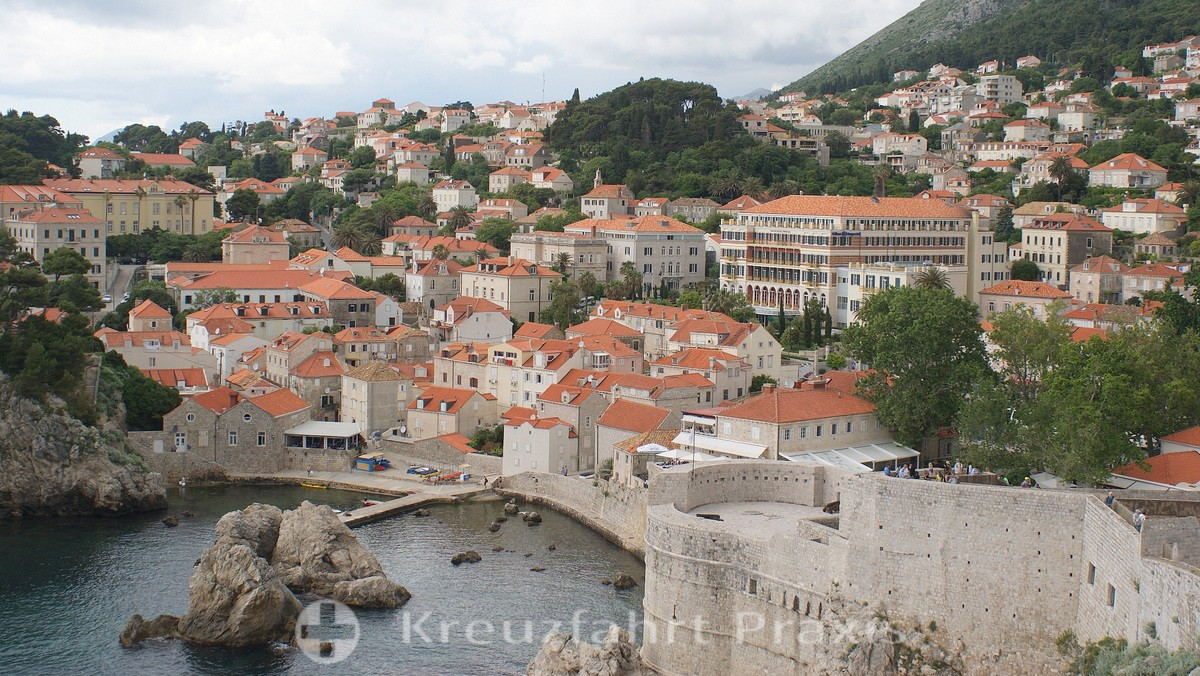 Dubrovnik's new town