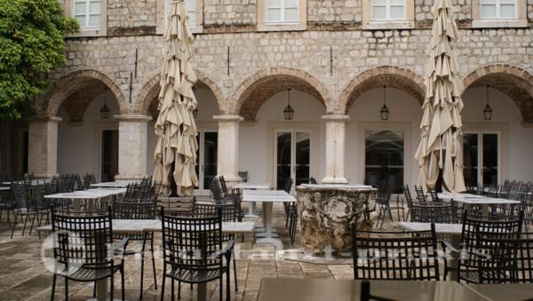 Das ehemalige Klarissenkloster - Heute ein Restaurant